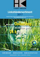 Linkshänder Katalog 2017