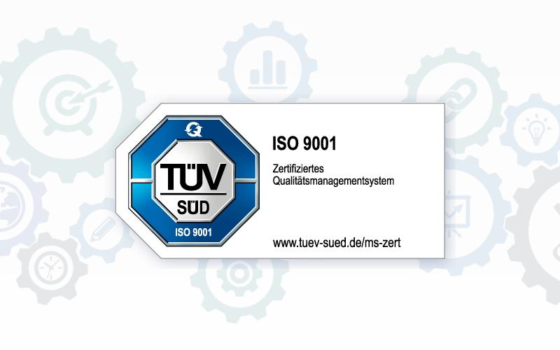 H. Kreller GmbH nach DIN ISO 9001 zertifiziert