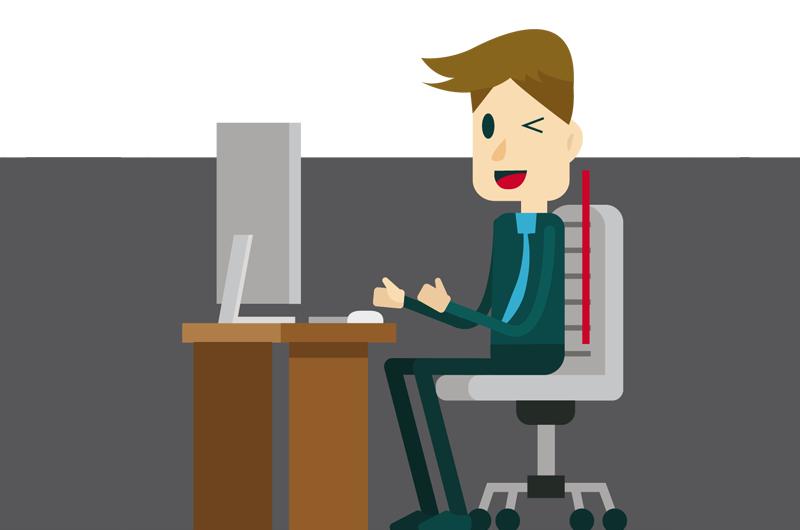 Ergonomie im Büro: 8 Tipps für gesundes Sitzen